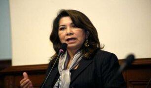 Martha Chávez: Comisión de Ética aprueba abrir investigación contra congresista