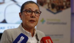 Fabiola León-Velarde: presidenta de Concytec presenta su renuncia al cargo