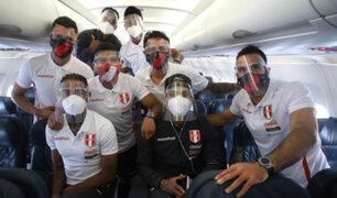 Perú vs. Chile: selección viajó a Santiago para su encuentro por Eliminatorias Qatar 2022