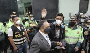 Carlos Ezeta tras salir libre: Protesten de manera pacífica sin agredir a policías o congresistas