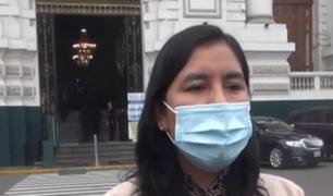 """""""Seguiré trabajando a favor de la corrupción"""": lapsus de congresista Yessy Fabián se hizo viral"""