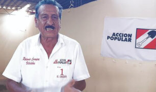 Lambayeque: Congresista de Acción Popular ocasiona accidente de tránsito