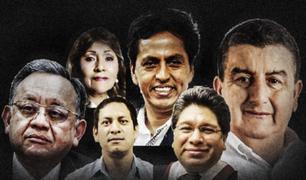 Revelan lista completa de congresistas investigados por el Ministerio Público