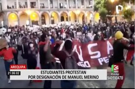 Día 3: Aumentan las marchas y protestas en el interior del país contra vacancia presidencial