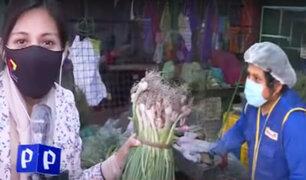 """Así están los precios de las verduras en el mercado """"Unicachi"""""""