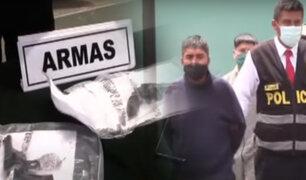 PNP captura a peligrosa banda con armas y explosivos caseros en Carabayllo