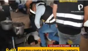 SMP: capturan a dos sujetos acusados de robar camioneta en Carabayllo