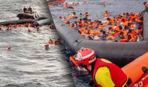 Bebé de 6 meses muere en naufragio en el Mediterráneo