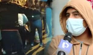 Dos heridos deja  jornada de protestas en el Centro de Lima