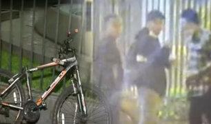 Delincuentes intentaron robar bicicleta durante marcha en el Centro de Lima