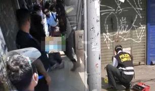Asesinan a balazos a un comerciante informal en Chorrillos