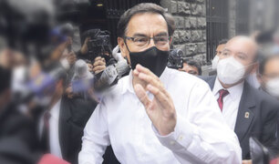 Caso 'Richard Swing': Martín Vizcarra acudirá a Comisión de Fiscalización el martes 1