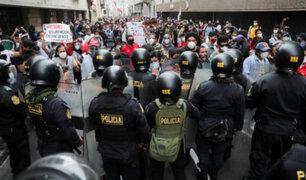 Mininter sobre marchas: no hay razón de ser una respuesta policial cuando son pacíficas
