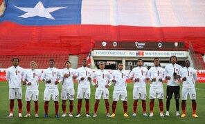Perú vs Chile: Selección Peruana entonó Himno Nacional con los brazos entrelazados