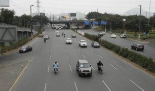 Flores-Aráoz: vehículos particulares podrán circular nuevamente desde este domingo