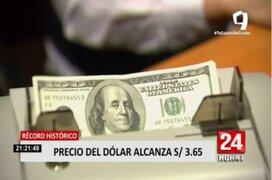 ¿Qué deberá hacer el gobierno para amortiguar el alza del precio del dólar?