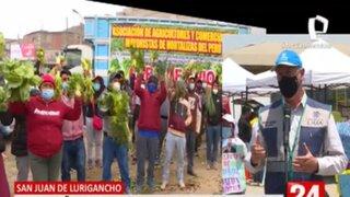 Muñoz confirma que aún no hay acuerdo con agricultores que insisten trabajar en la calle