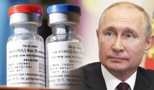 """Rusia comenzará vacunación masiva en """"en los próximos meses"""" por el COVID-19"""