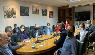 Manuel Merino se reunió con ministros en sede del MININTER