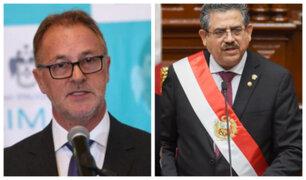 """Jorge Muñoz sobre renuncia de Manuel Merino: """"Nos va a dar un poco más de tranquilidad"""""""