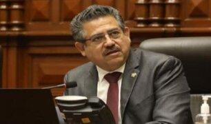 Merino pide al ministro Elice que se sancione a responsables de filtrar su viaje a EEUU