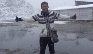 Inti Sotelo fue declarado mártir de la democracia en Ayacucho