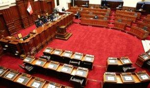 ¡Sin presidente! El Pleno rechazó elección de nueva Mesa Directiva