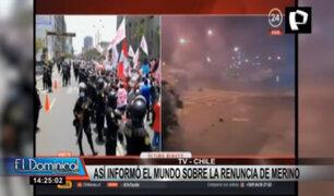 Así informó la prensa mundial sobre renuncia de Manuel Merino