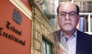 Cesar Landa: el TC debe restablecer el orden que la ciudadanía está esperando