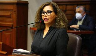 María Teresa Cabrera renunció a Mesa Directiva del Congreso
