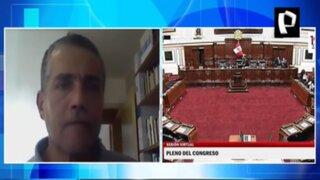 Iván García opina sobre eventual designación de Rocío Silva como presidenta del Congreso