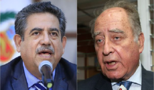 Denuncian a Manuel Merino y Ántero Flores-Aráoz por la muerte de dos jóvenes durante las marchas