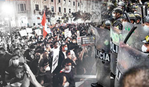 Cercado de Lima: joven que no participó de marcha terminó herido de proyectil