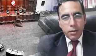 """""""No tenemos gobernante y la solución legal es problemática"""": constitucionalista  Omar Cairo"""