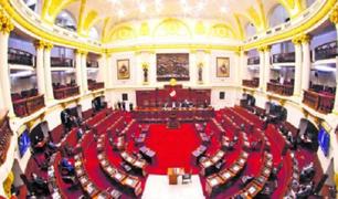 Junta de portavoces del Congreso se reúne hoy para dar solución a la crisis política del país