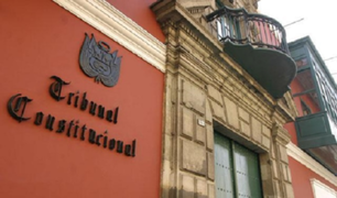 Tribunal Constitucional evaluará reformulación de causales de vacancia presidencial