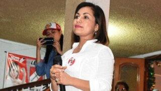 Leslye Lazo negó formar parte de la lista presentada por María Cabrera