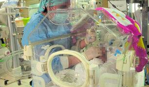 Huancayo: hospital El Carmen recicla cuneros para atender a bebés prematuros