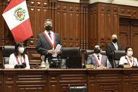 Sagasti jurará como presidente de la República hoy a las 4 de la tarde