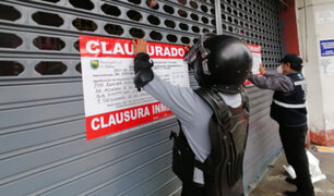 Lince: cierran mercado Lobatón por incumplir protocolos de bioseguridad contra el Covid-19
