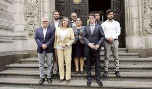 Congresista Olivares negó que algún miembro del Partido Morado ocupe cargo en gabinete ministerial