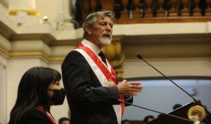 """Francisco Sagasti: """"La tarea central de nuestro Gobierno es devolverle la confianza a la ciudadanía"""""""