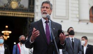"""Francisco Sagasti: Gobierno velará por """"un manejo responsable del presupuesto público"""""""