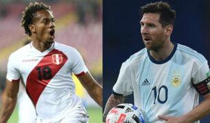 Perú vs. Argentina: Bicolor perdió 2-0 por la fecha 4 de las Eliminatorias Qatar 2022
