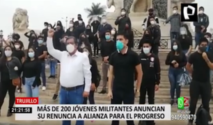 APP en Trujillo: cientos de jóvenes militantes renunciaron y se alejan de César Acuña