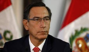 Caso 'Richard Swing': Martín Vizcarra pasa a la condición de investigado
