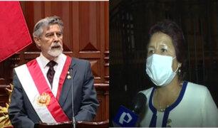 Congresistas se pronuncian tras primer discurso de Francisco Sagasti como presidente del Perú
