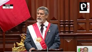 Gobernadores regionales expresan respaldo a presidente Sagasti