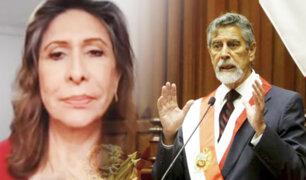 Zenaida Solís: debemos tener calma para esperar al nuevo Gabinete