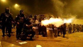 PNP: ¿De dónde salieron 'canicas' y perdigones metálicos usados en protestas?